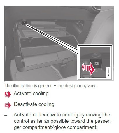 Using the glove box as a cooled area | Volvo XC40 Forum
