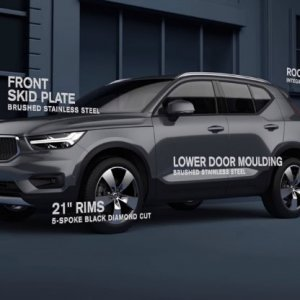 Volvo XC40 Offered With Exterior Style Kit